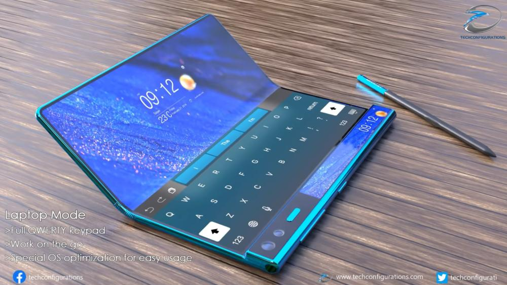 Huawei Mate X2 Concept Final Design May