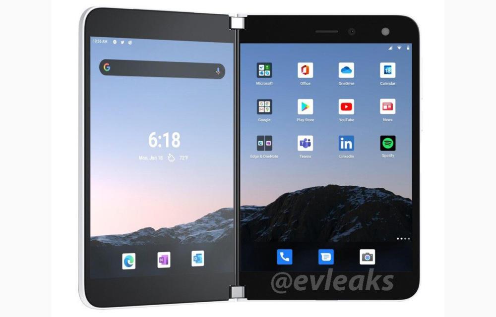 Microsoft Surface Duo Renders by Evan Blass