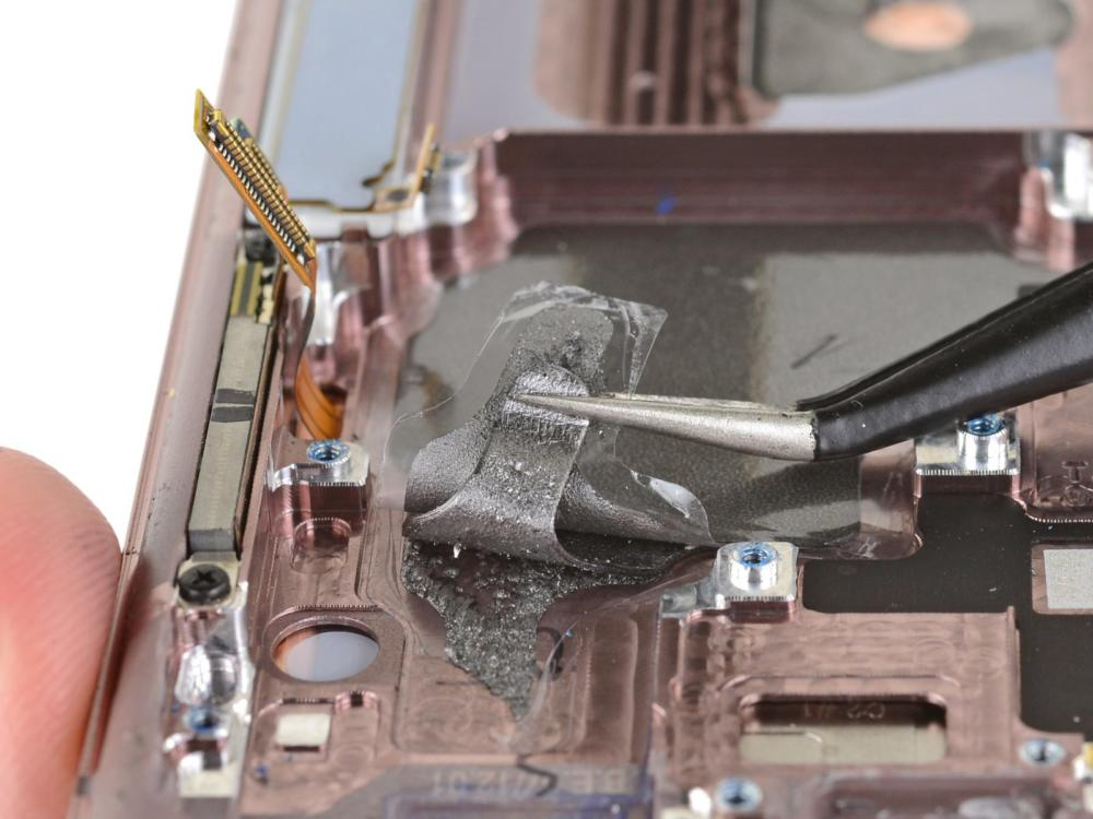 Samsung Galaxy Note 20 Ultra Have Graphite or Vapor Chamber via iFixit