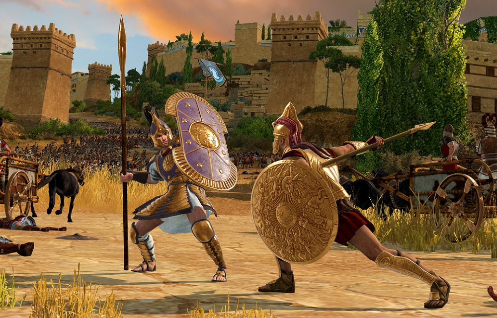 Total War: Troy Heroes Greek and Trojan
