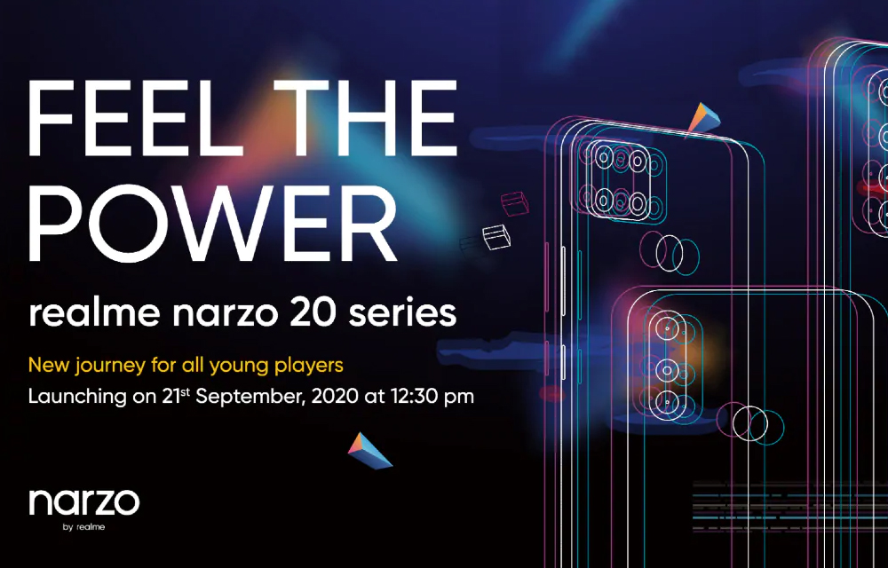 Realme Narzo 20, 20A, and 20 Pro, full specs leaks