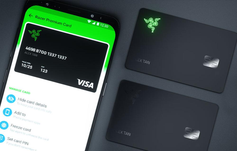 Razer Card Prepaid Visa