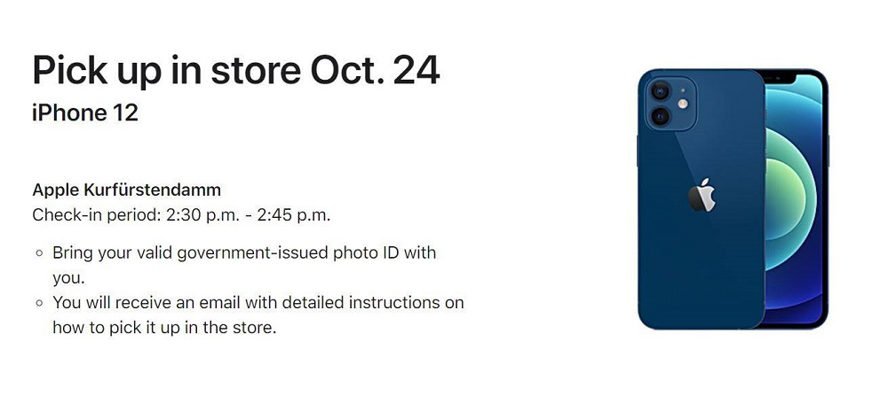 iPhone 12 Pre order