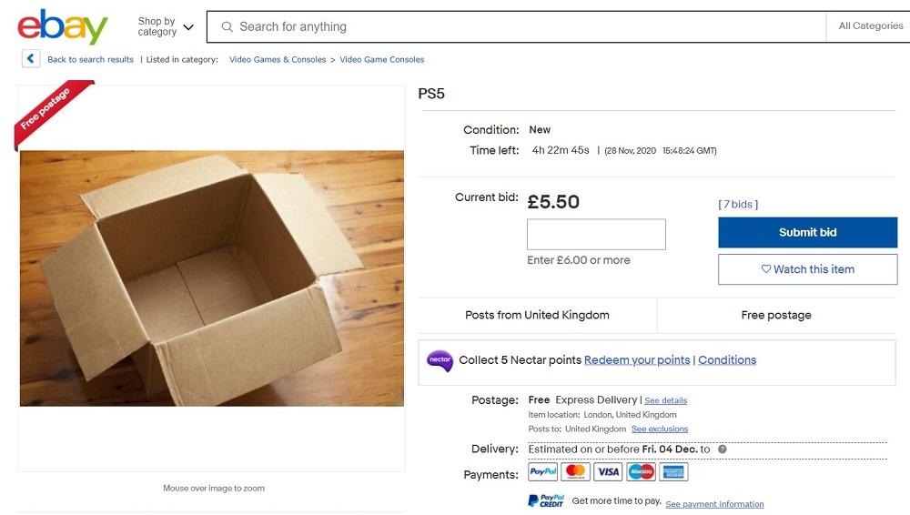 PlayStation 5: Αγγελία στο eBay ένα βήμα πριν την κατάθλιψη