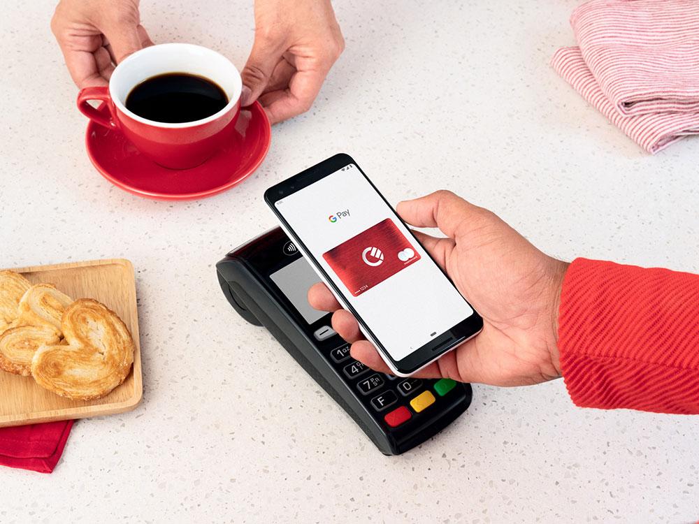 Google Pay cafe