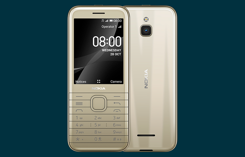 Nokia 6300 4G And Nokia 8000 4G Official In Global Markets