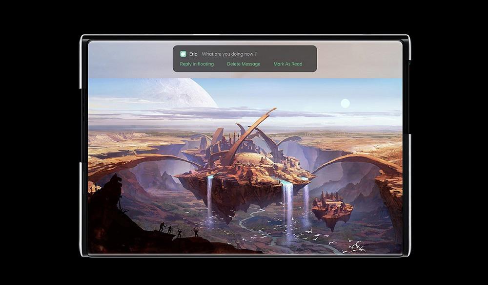 Oppo X 2021: Το concept smartphone με rollable οθόνη