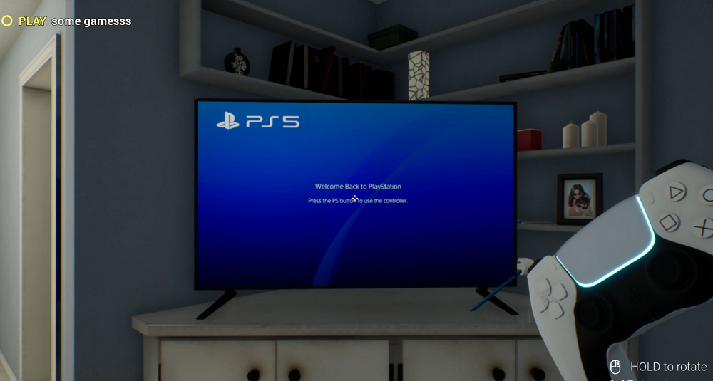 PlayStation 5 Simulator: Για να ζήσουν την εμπειρία όσοι δεν πρόλαβαν τις προ-παραγγελίες