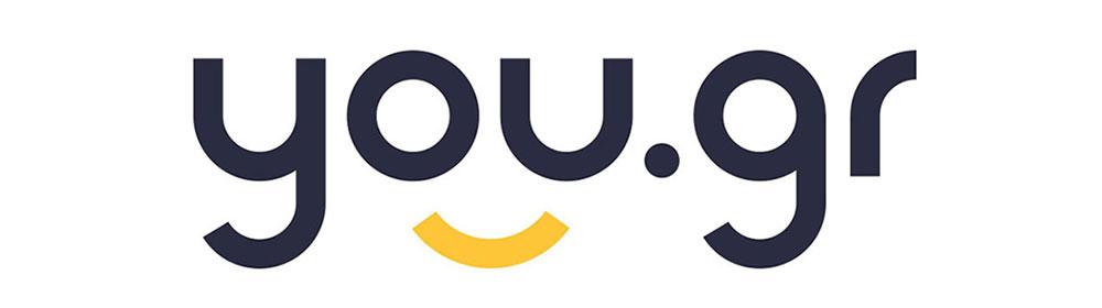 You.gr logo