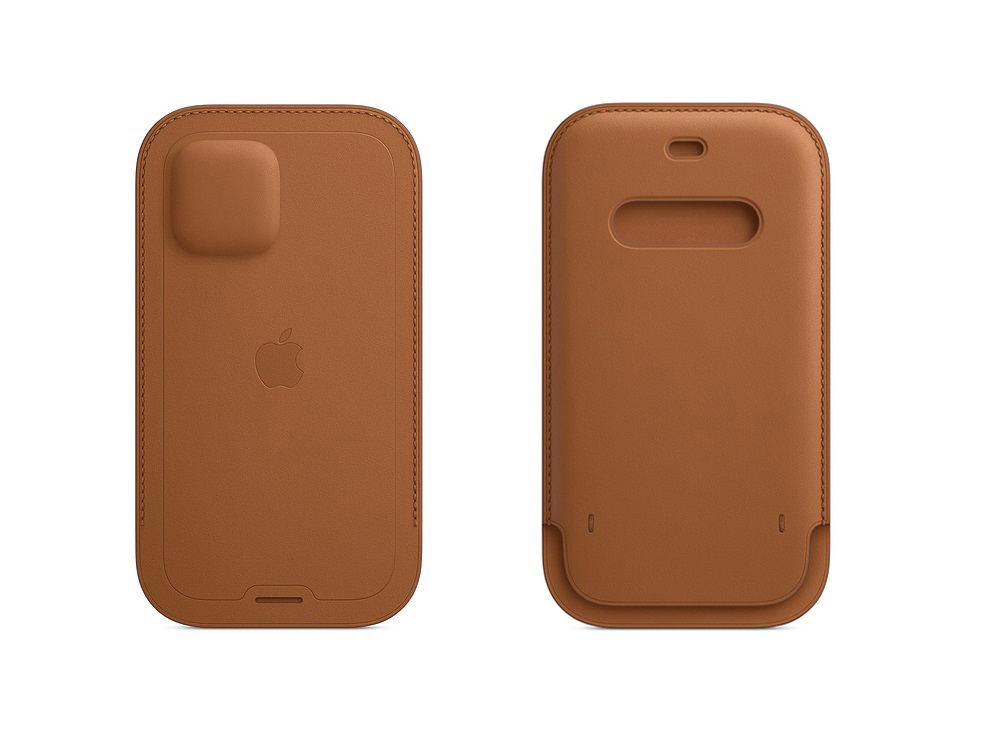 iPhone 12 Leather Sleeve: Πουγκί με MagSafe στη τιμή των 145 ευρώ