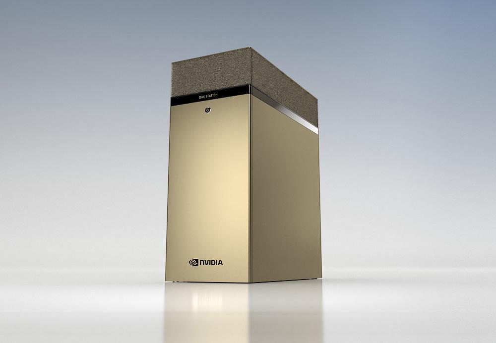 Nvidia DGX Station A100: Το απόλυτο workstation με τέσσερις GPU στα 80GB