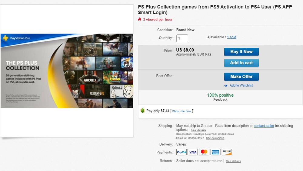 Ban σε κατόχους PS5 επειδή ξεκλειδώνουν επί πληρωμή το PS Plus Collection σε κατόχους PS4