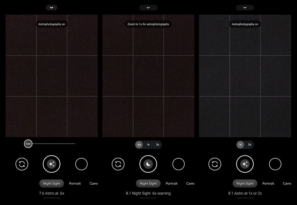 Η Google απενεργοποιεί την αστροφωτογραφία με ultrawide φακό στα νεότερα Pixel