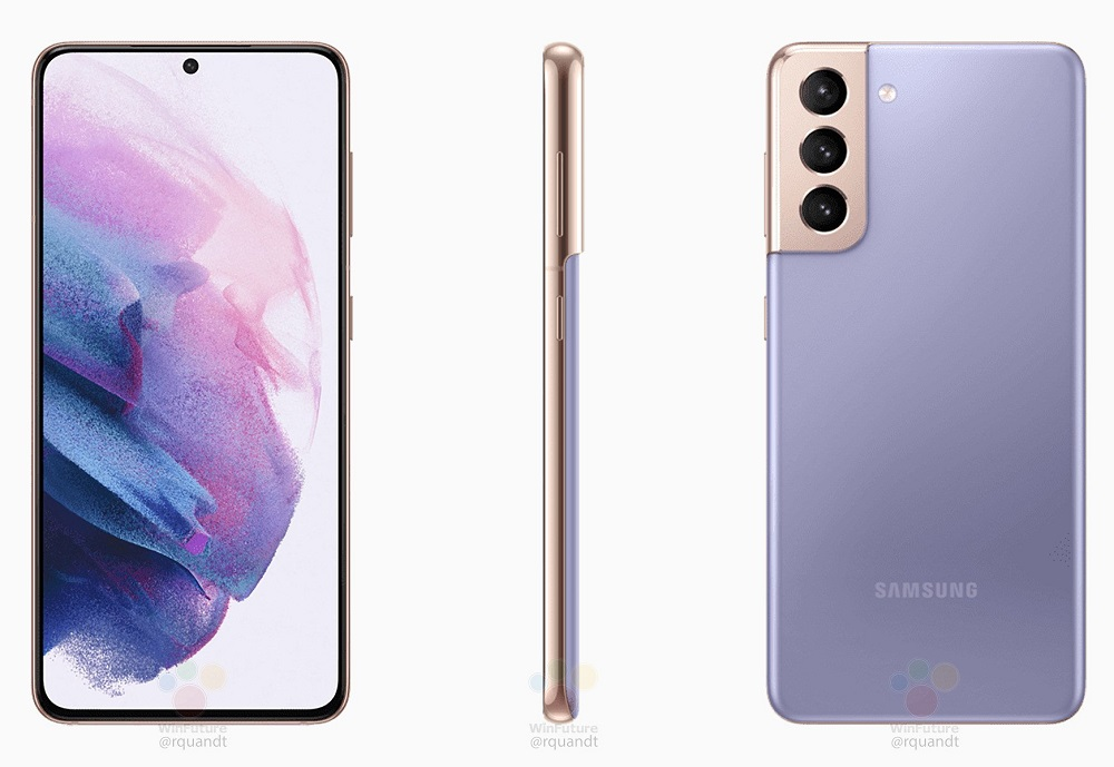 Samsung Galaxy S21: Επίσημα renders σε όλα τα χρώματα