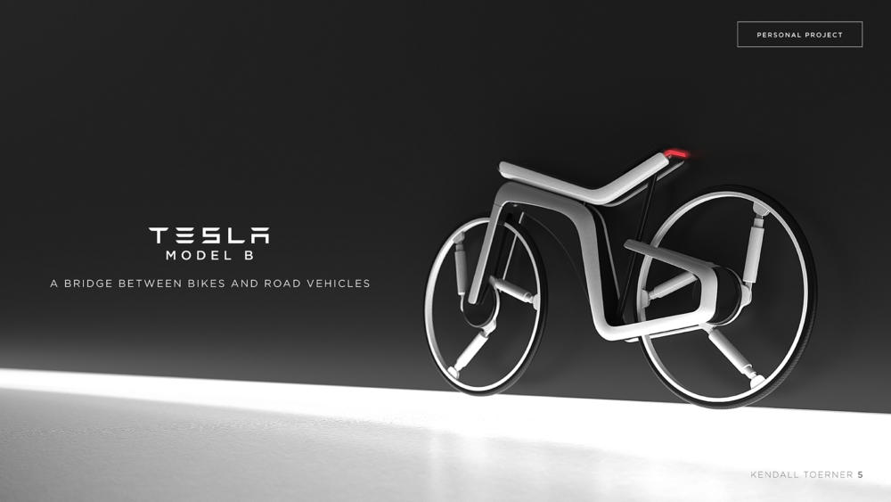 Tesla Model B concept ebike