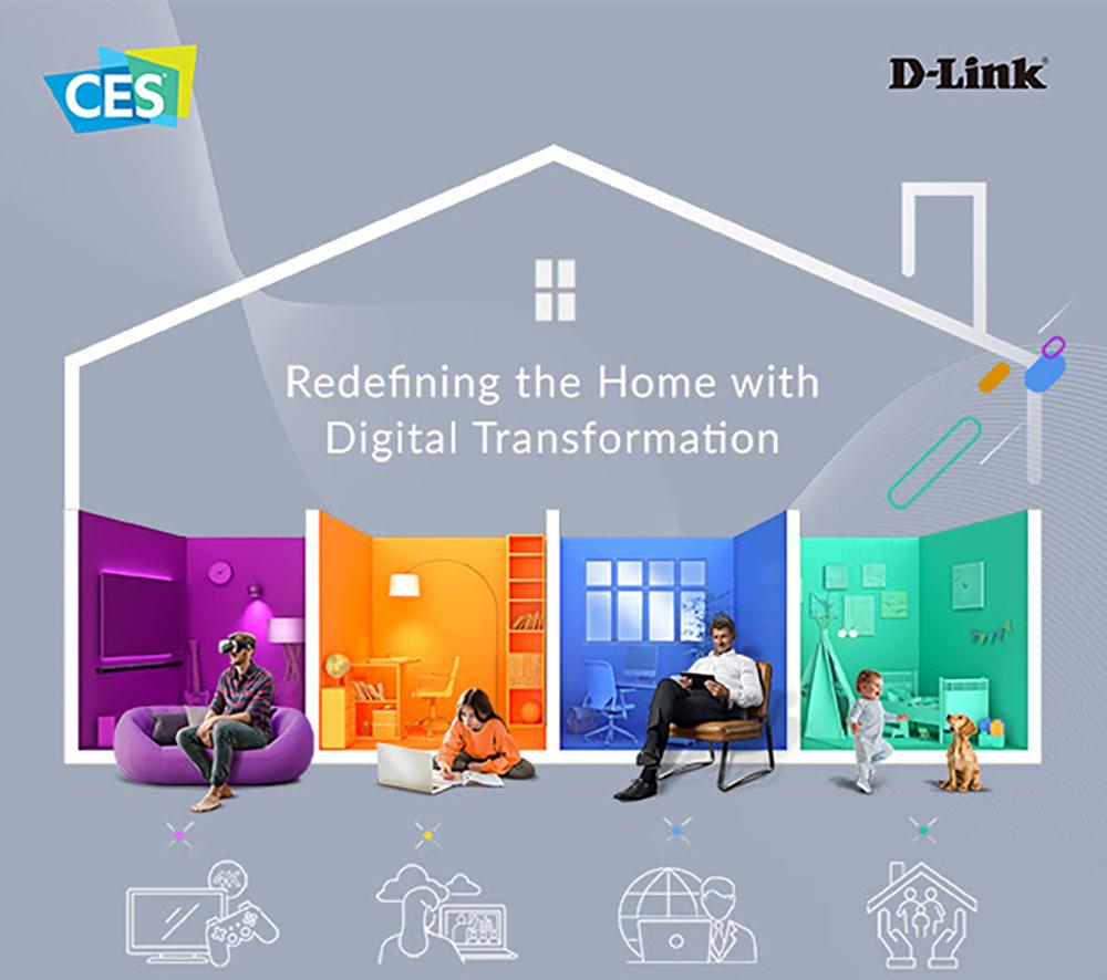 D-Link CES 2021
