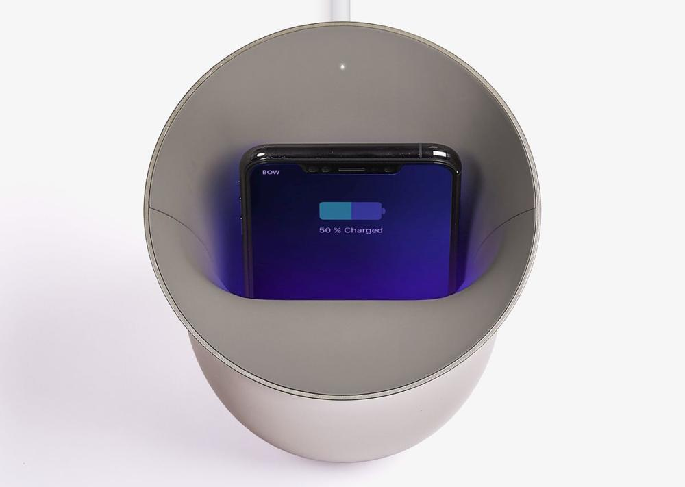 Oblio: Ασύρματη φόρτιση και απολύμανση για το smartphone σας