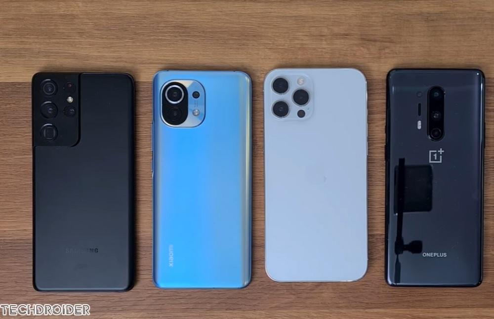 Galaxy S21 Ultra vs iPhone 12 Pro Max vs Mi 11: Κόντρα στη μπαταρία!