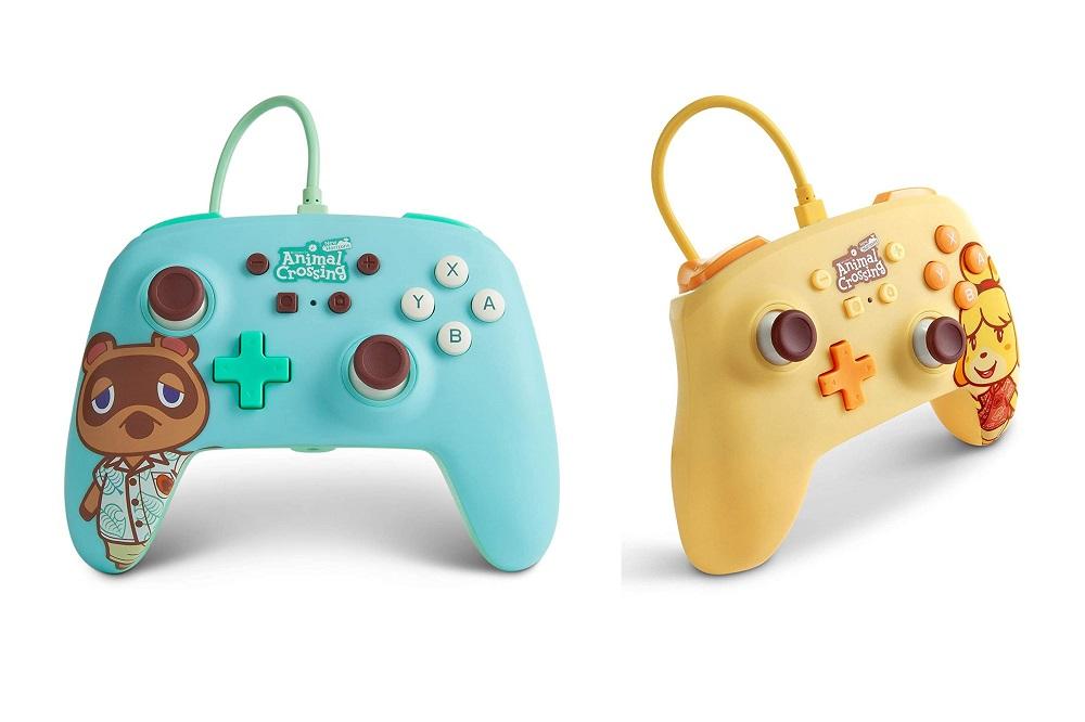 Νέα χειριστήρια για το Nintendo Switch με θέμα το Animal Crossing