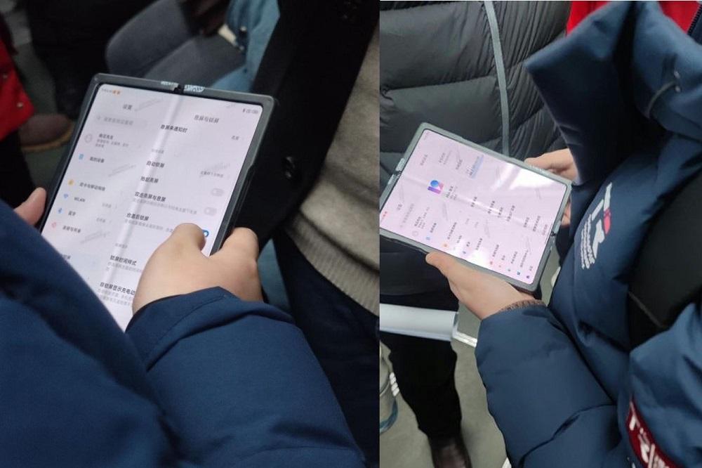 Xiaomi foldable: Ποζάρει σε πραγματικές φωτογραφίες, είναι smartphone ή tablet;