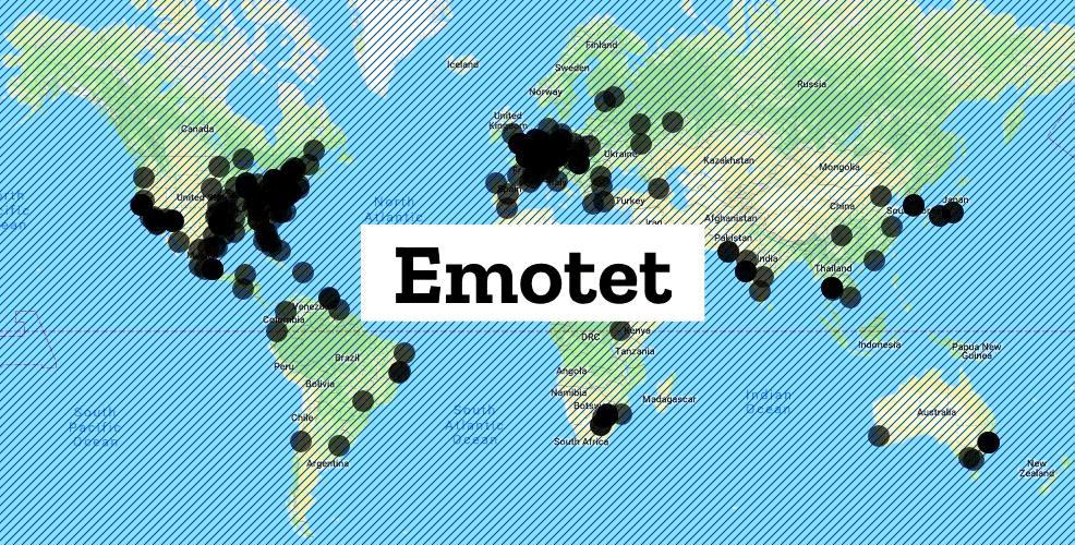 Συντονισμένη επιχείρηση εξάλειψης του botnet Emotet τον Μάρτιο