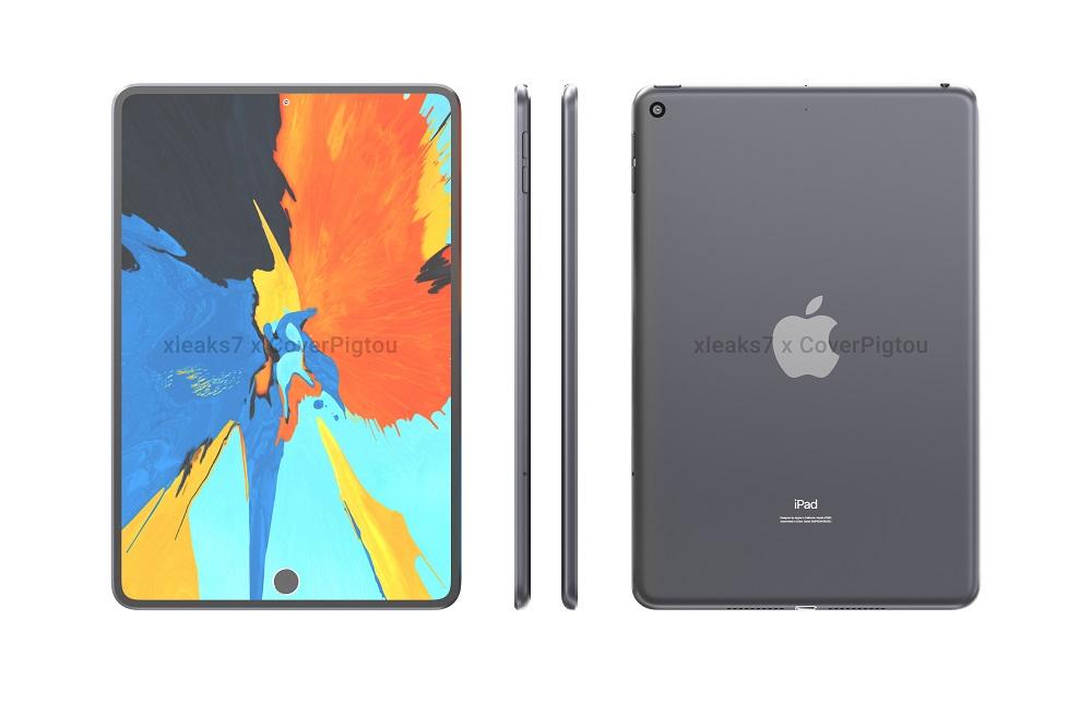 iPad mini 6: Τα πρώτα renders με… δύο οπές στην οθόνη