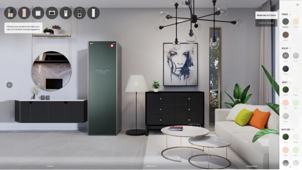 LG Furniture Concept Appliances