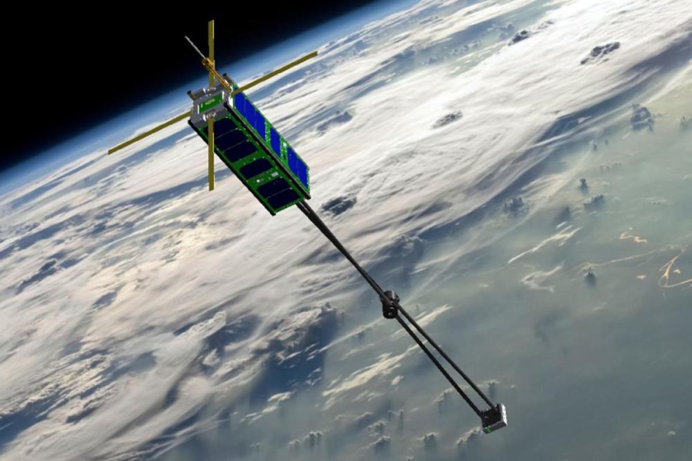 To μαγνητικό πεδίο της Γης ως κινητήριος δύναμη δορυφόρων