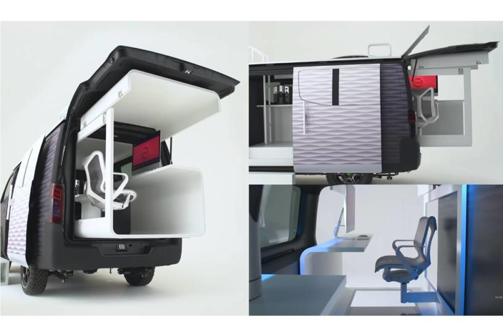 Nissan Office Pod concept: Teleworking at its best