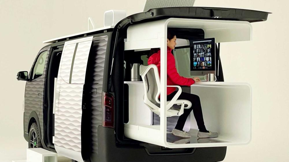 Nissan Office Pod concept: Η τηλεργασία στα καλύτερά της