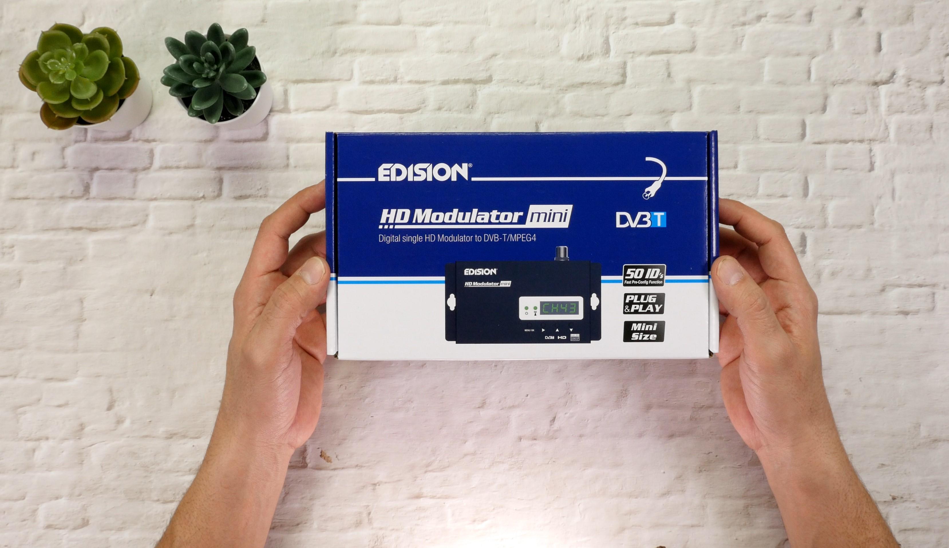 EDISION HDMI MODULATOR mini review Techblog