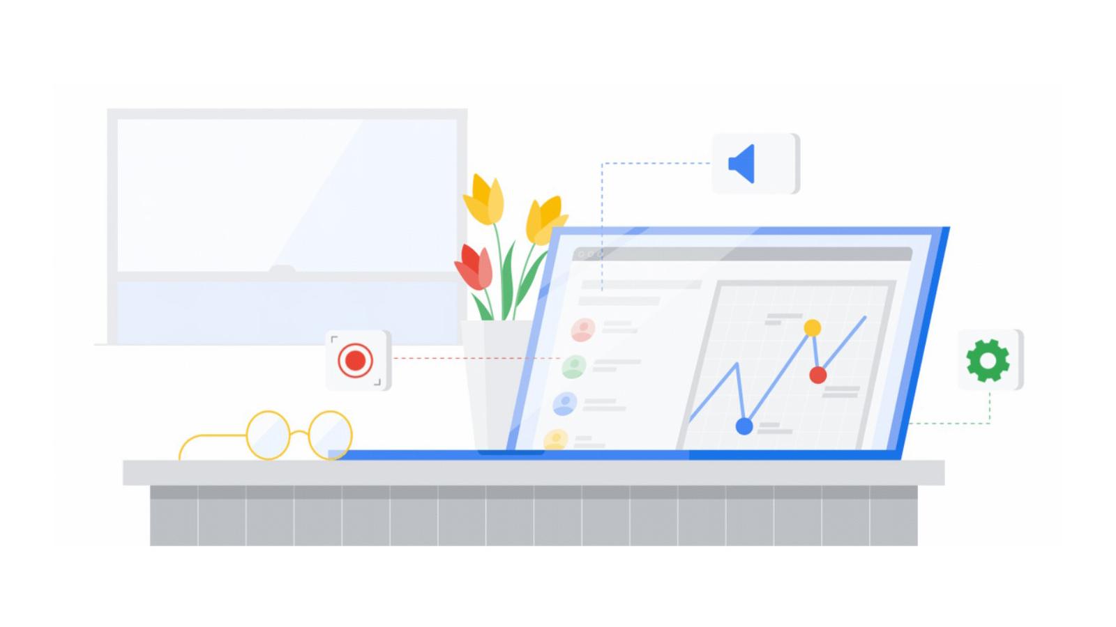 Google Chrome screen recording