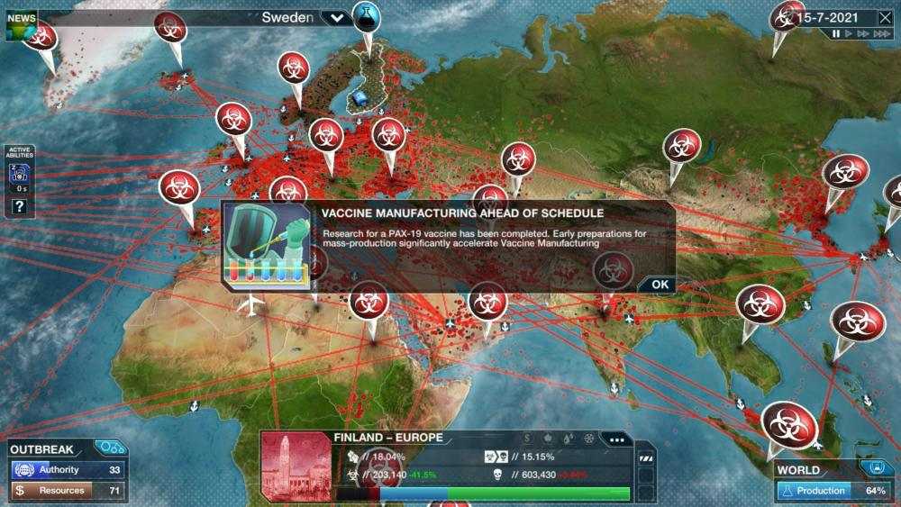 Plague Inc. The Cure Free Until Covid Under Control