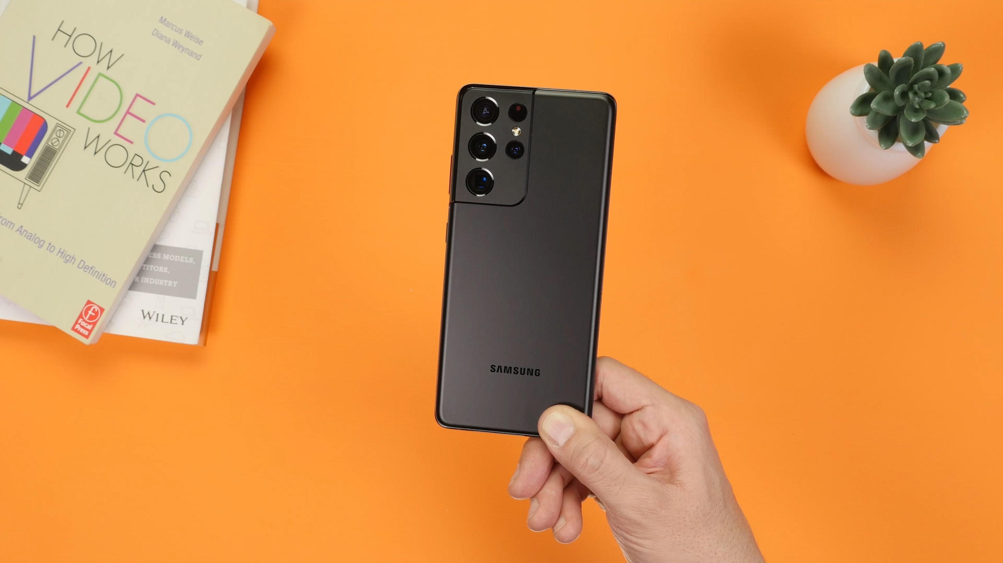 Samsung Galaxy S21 Ultra hands-on Techblog