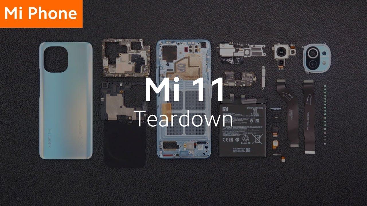 Xiaomi Mi 11 tear down