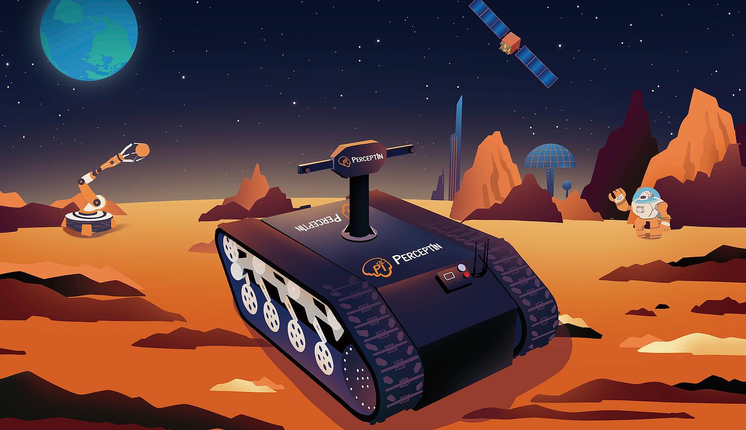 Αυτόνομα robots θα αναλάβουν ρόλο στη διαστημική εξερεύνηση