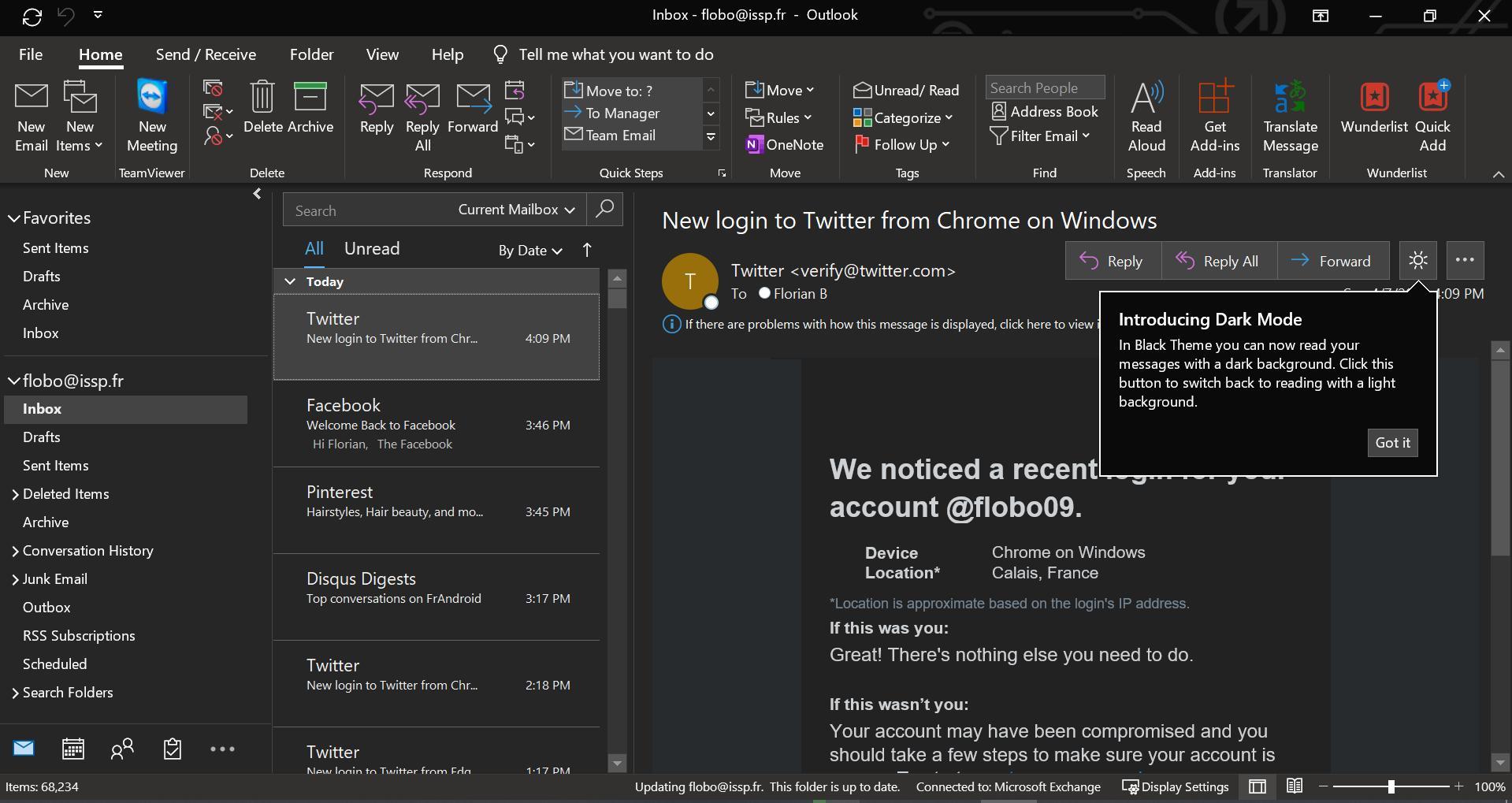 Δουλεύεις Office 365 μέχρι αργά; Δοκίμασε το dark theme