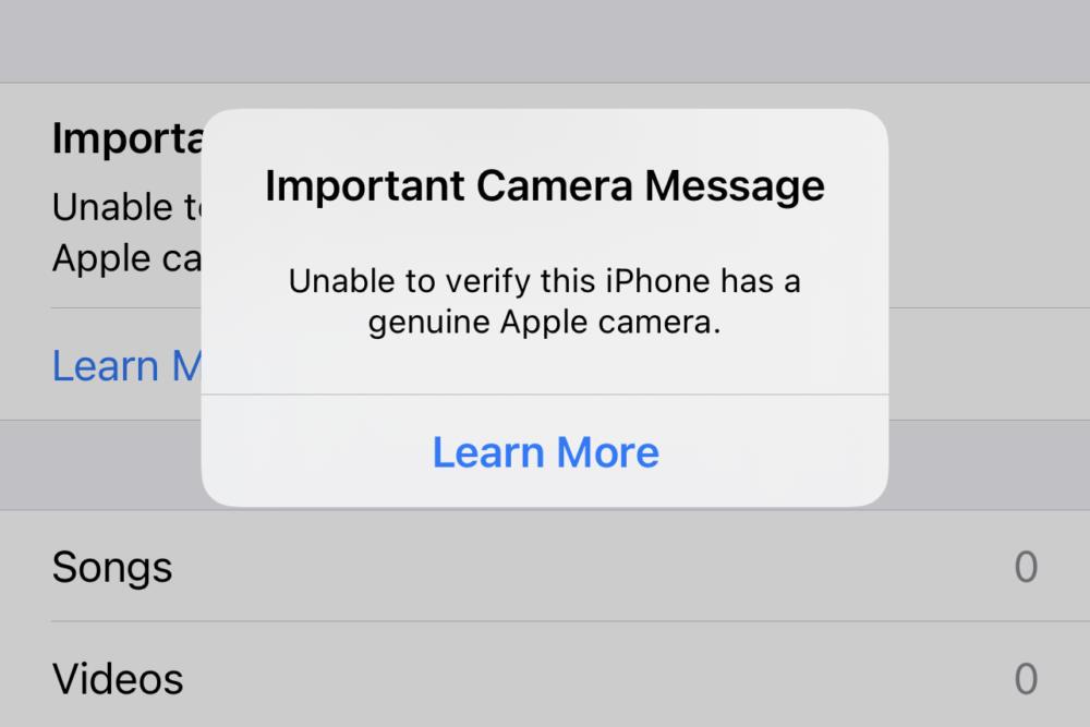 Προειδοποιητικό μήνυμα στα εκτός δικτύου Apple επισκευασμένα iPhone 12