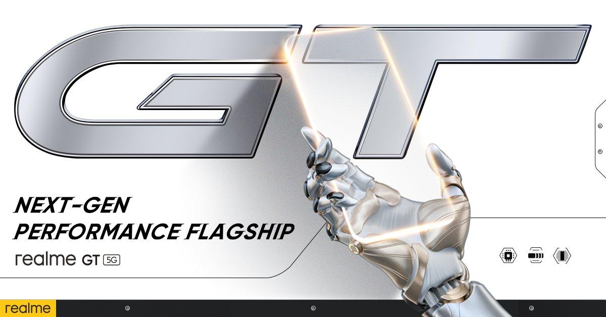 Στις 4 Μαρτίου έρχεται επισήμως το Realme GT σε ταχύτητες 5G