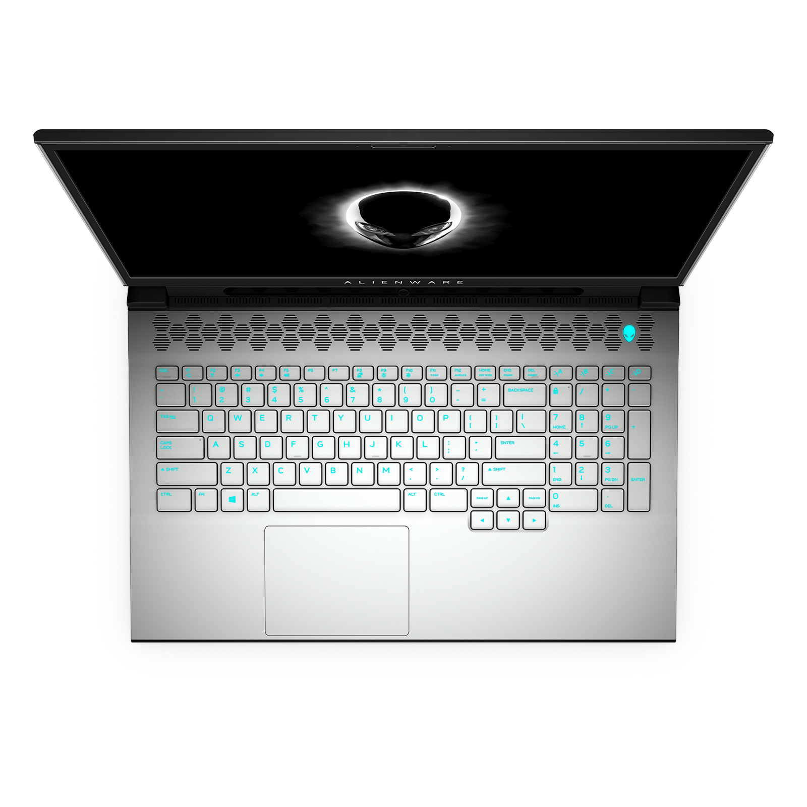 Alienware m17 R4 White with Tobii Keyboard