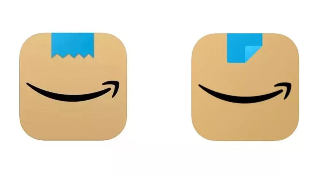 Amazon new logo app