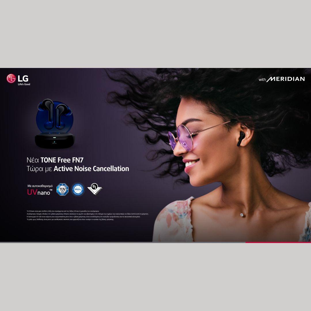 LG FreeTone Earbuds FN7