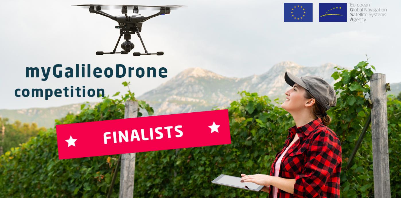 MyGallileo Drone finalists 2021