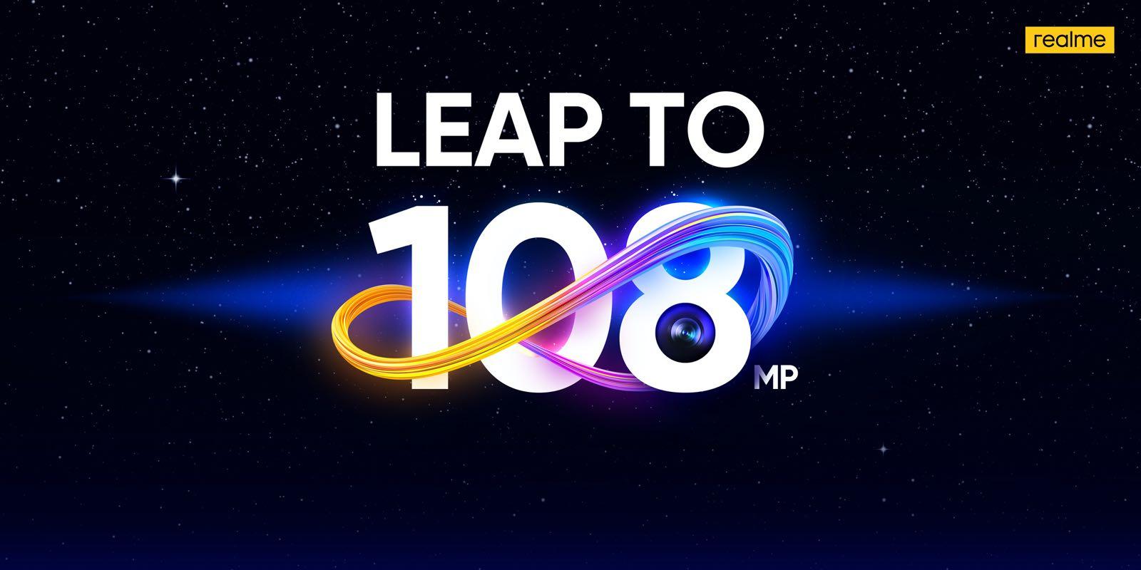 Realme 108 Megapixel teaser
