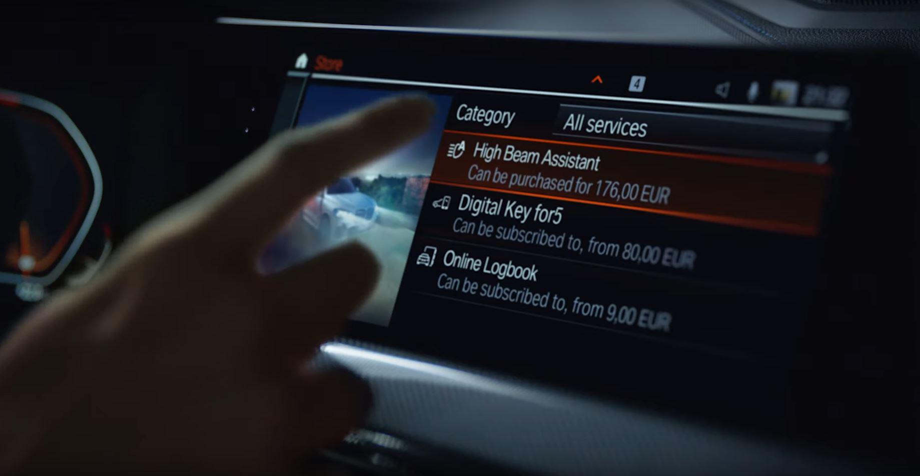 H BMW χρεώνει extra την αναβάθμιση λειτουργίας των προβολέων