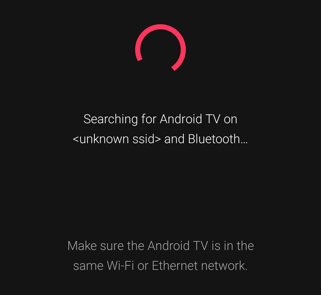 Google TV app remote pairing