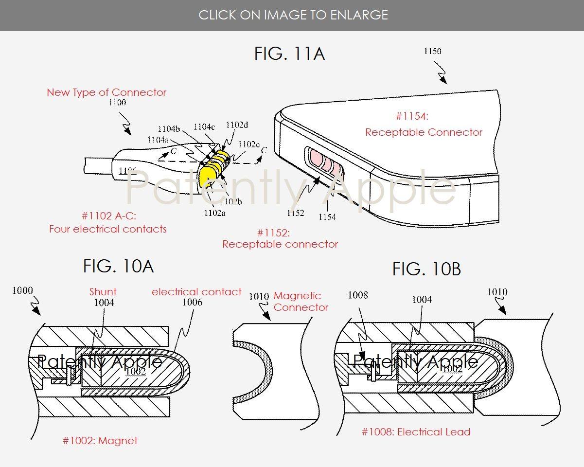 H Apple πατεντάρει τον... μαγνητικό αντικαταστάτη του Lightning