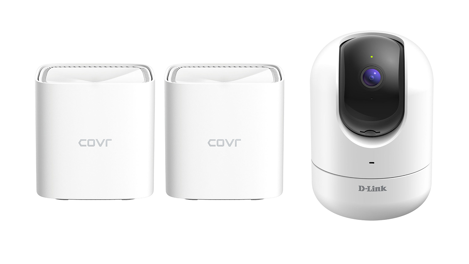 D-Link security camera and covr