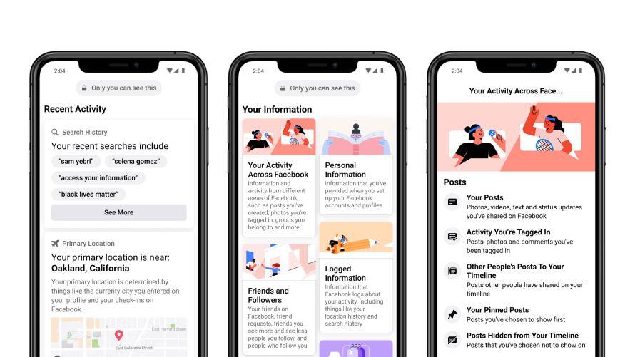 Facebook App personal information