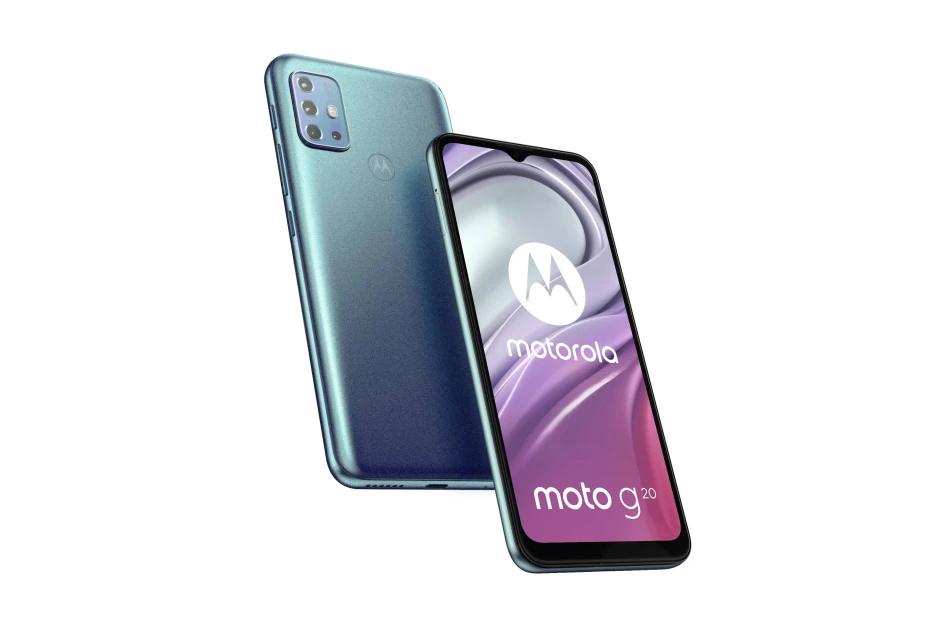 Διαρροή των τεχνικών χαρακτηριστικών του Motorola Moto G20